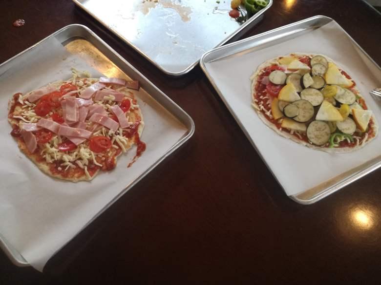 ピザ作り体験3
