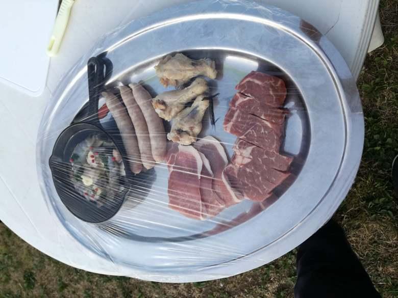 BBQお肉